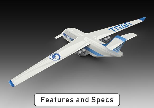 Challenger Aerospace TITAN UAS Cargo System