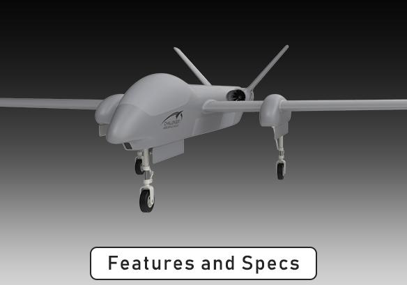 Challenger Aerospace Bloodhound Hybrid UAS System