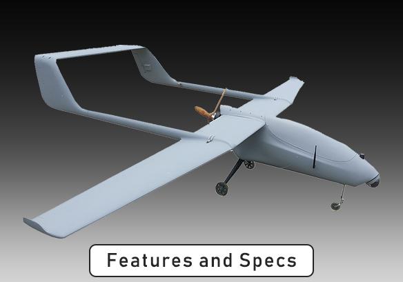 Challenger Aerospace EAGLE RAY Hybrid VTOL-UAS System